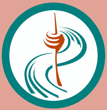 Das Logo mit dem Rheinturm
